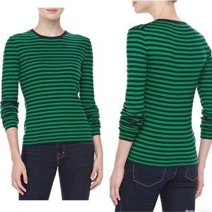 Michael Kors Cashmere Stripe Sweater Size Medium